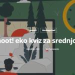 Kahoot! eko kviz za srednjoškolce